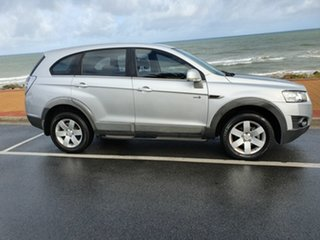 2012 Holden Captiva CG Series II 7 SX Silicon Silver 6 Speed Sports Automatic Wagon.