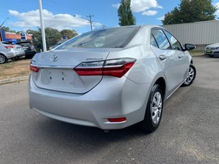 2018 Toyota Corolla ZRE172R MY17 Ascent Silver 7 Speed Constant Variable Sedan