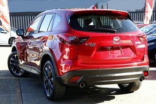 2017 Mazda CX-5 MY17.5 (KF Series 2) Akera (4x4) Burgundy 6 Speed Automatic Wagon.