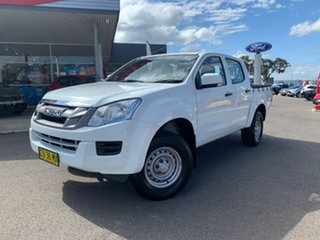 2012 Isuzu D-MAX MY12 SX - High Ride White 5 Speed Sports Automatic Dual Cab Utility.