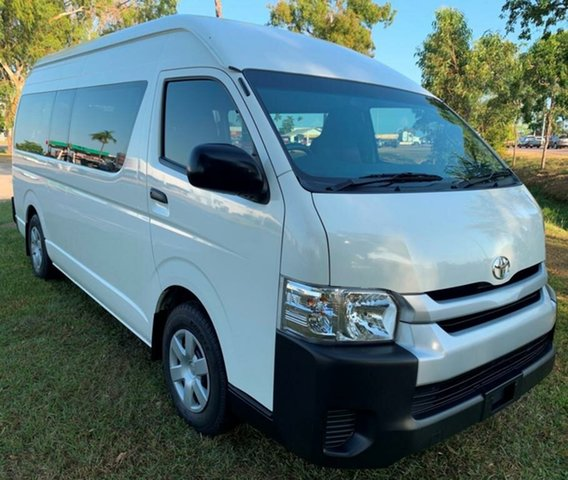 Used Toyota HiAce KDH223R Commuter High Roof Super LWB, 2016 Toyota HiAce KDH223R Commuter High Roof Super LWB White 4 Speed Automatic Bus
