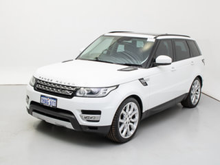 2014 Land Rover Range Rover LW Sport SDV8 HSE White 8 Speed Automatic Wagon