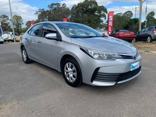 2018 Toyota Corolla ZRE172R MY17 Ascent Silver 7 Speed Constant Variable Sedan.