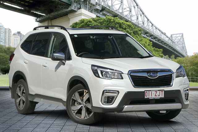 Demo Subaru Forester S5 MY20 2.5i-S CVT AWD, 2019 Subaru Forester S5 MY20 2.5i-S CVT AWD White Crystal 7 Speed Constant Variable Wagon