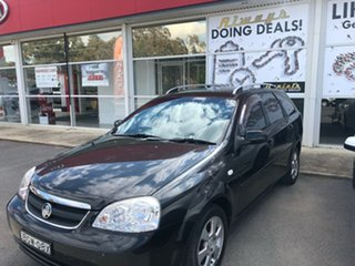 2008 Holden Viva JF MY09 Black 5 Speed Manual Wagon