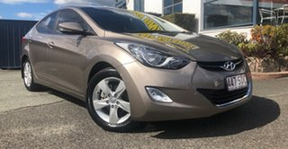2012 Hyundai Elantra MD2 Elite Bronze 6 Speed Sports Automatic Sedan.