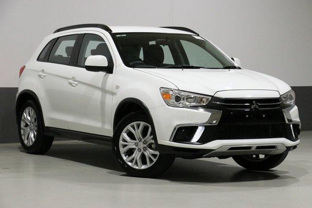Demo Mitsubishi ASX XC MY18 LS (2WD), 2018 Mitsubishi ASX XC MY18 LS (2WD) White Continuous Variable Wagon