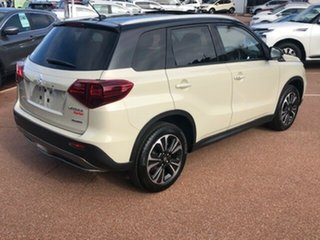 2020 Suzuki Vitara LY Series II Turbo 4WD Ivory & Black 6 Speed Sports Automatic Wagon.