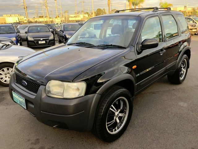Used Ford Escape ZB XLS, 2005 Ford Escape ZB XLS Black 4 Speed Automatic Wagon