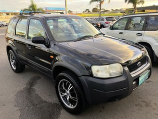 2005 Ford Escape ZB XLS Black 4 Speed Automatic Wagon.