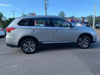 2019 Mitsubishi Outlander ES Silver Constant Variable Wagon.