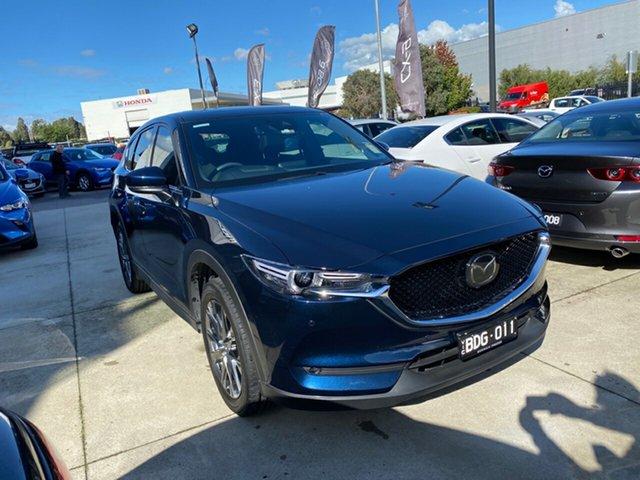 Demo Mazda CX-5 KF4WLA Akera SKYACTIV-Drive i-ACTIV AWD, 2019 Mazda CX-5 CX-5 Akera SKYACTIV-Drive i-ACTIV AWD Deep Crystal Blue 6 Speed Sports Automatic
