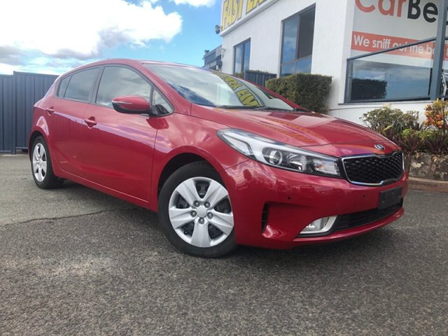 Used Kia Cerato YD MY17 S, 2016 Kia Cerato YD MY17 S Red 6 Speed Sports Automatic Hatchback