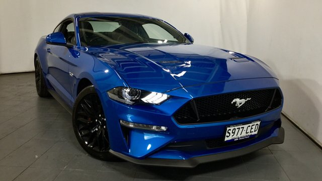 Demo Ford Mustang FN 2020MY GT Fastback SelectShift RWD, 2019 Ford Mustang FN 2020MY GT Fastback SelectShift RWD Velocity Blue 10 Speed Sports Automatic