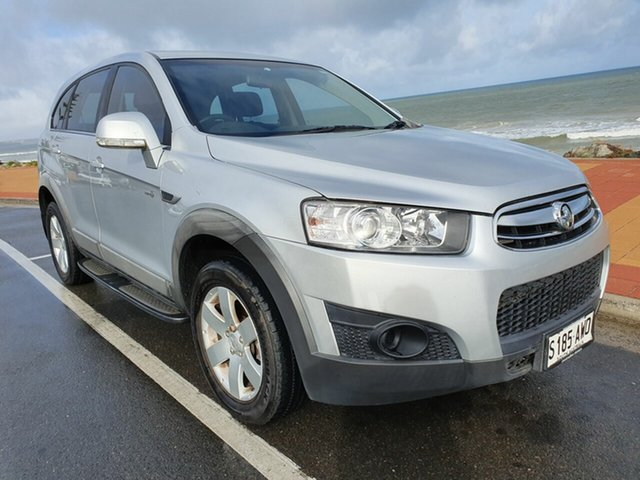 Used Holden Captiva CG Series II 7 SX, 2012 Holden Captiva CG Series II 7 SX Silicon Silver 6 Speed Sports Automatic Wagon