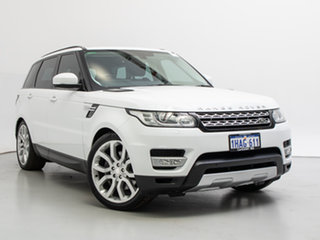 2014 Land Rover Range Rover LW Sport SDV8 HSE White 8 Speed Automatic Wagon.