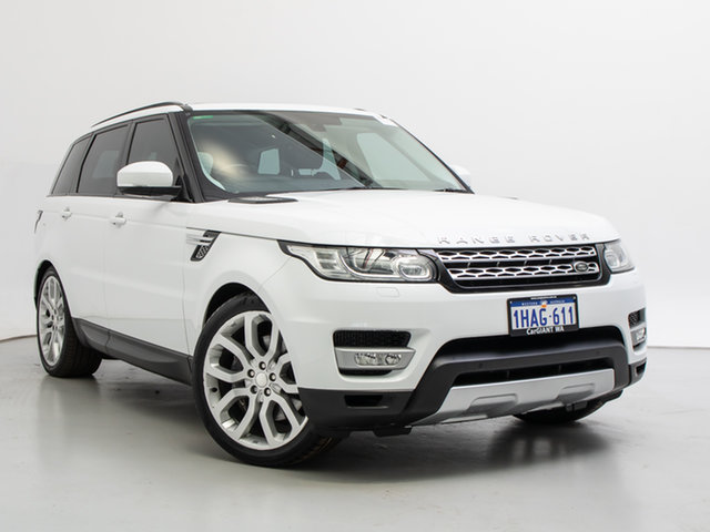 Used Land Rover Range Rover LW Sport SDV8 HSE, 2014 Land Rover Range Rover LW Sport SDV8 HSE White 8 Speed Automatic Wagon
