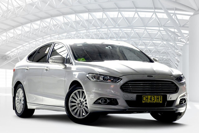 Used Ford Mondeo MD Trend, 2015 Ford Mondeo MD Trend Moondust Silver 6 Speed Automatic Hatchback
