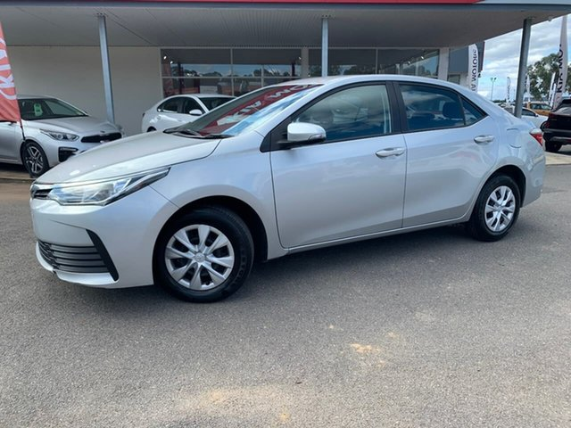 Used Toyota Corolla ZRE172R MY17 Ascent, 2018 Toyota Corolla ZRE172R MY17 Ascent Silver 7 Speed Constant Variable Sedan