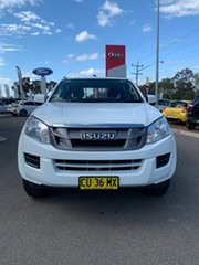 2012 Isuzu D-MAX MY12 SX - High Ride White 5 Speed Sports Automatic Dual Cab Utility