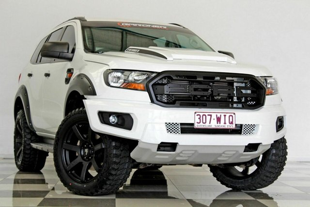 Used Ford Everest UA Ambiente, 2015 Ford Everest UA Ambiente White 6 Speed Automatic Wagon