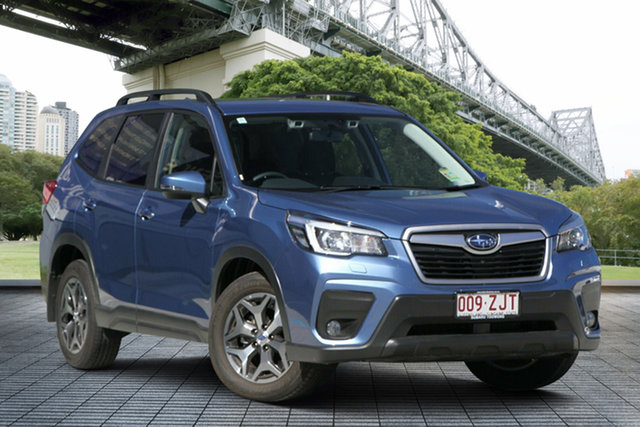 Demo Subaru Forester S5 MY20 2.5i-L CVT AWD, 2019 Subaru Forester S5 MY20 2.5i-L CVT AWD Horizon Blue 7 Speed Constant Variable Wagon