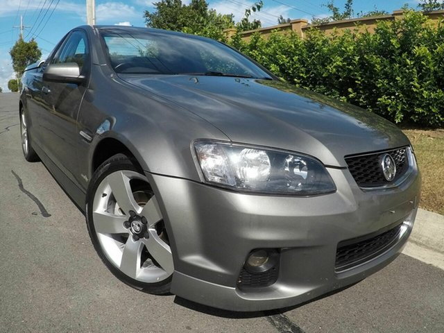 Used Holden Commodore  SV6, 2011 Holden Commodore VEII SV6 Grey 6 Speed Manual Utility