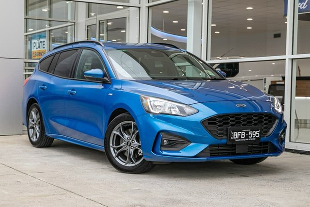 Demo Ford Focus SA 2019.75MY ST-Line, 2019 Ford Focus SA 2019.75MY ST-Line Blue 8 Speed Automatic Wagon