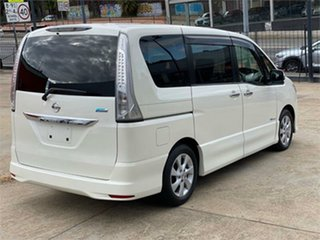 2013 Nissan Serena Highway Star HIBRID White Automatic Wagon