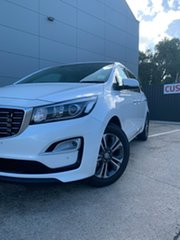 2019 Kia Carnival YP MY20 SLi Snow White Pearl 8 Speed Sports Automatic Wagon.