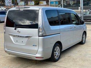 2013 Nissan Serena Silver Wagon.