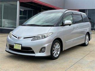2011 Toyota Estima Silver Wagon.