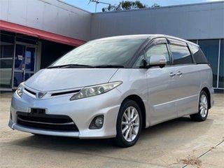 2010 Toyota Estima Silver Wagon.