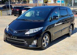2011 Toyota Estima Black Wagon.