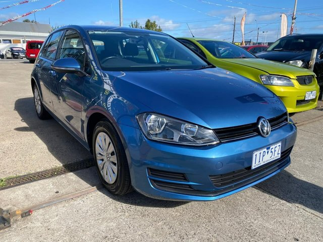 Used Volkswagen Golf VII MY16 92TSI DSG Maidstone, 2016 Volkswagen Golf VII MY16 92TSI DSG Blue 7 Speed Sports Automatic Dual Clutch Hatchback