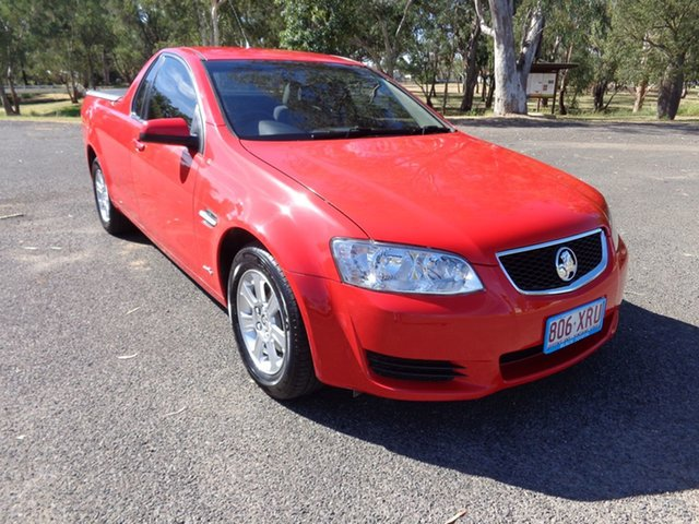 Used Holden Commodore VE II Omega, 2011 Holden Commodore VE II Omega Red 6 Speed Automatic Utility