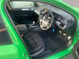 2010 Ford Falcon FG XR6 Ute Super Cab Green 6 Speed Manual Utility