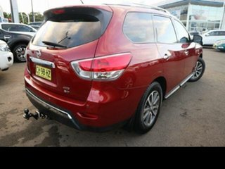 2013 Nissan Pathfinder R52 ST (4x4) Burgundy Continuous Variable Wagon