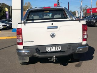 2013 Holden Colorado LTZ White Manual Dual Cab Utility