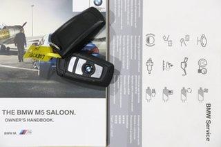 2012 BMW M5 F10 MY12 Black 7 Speed Auto Direct Shift Sedan