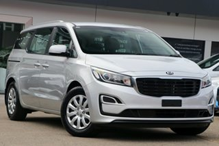 2018 Kia Carnival PE 19MY S Silver Automatic 5D People Mover.