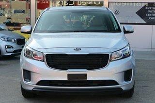 2018 Kia Carnival YP PE MY19 S Silky Silver 8 Speed Automatic Wagon