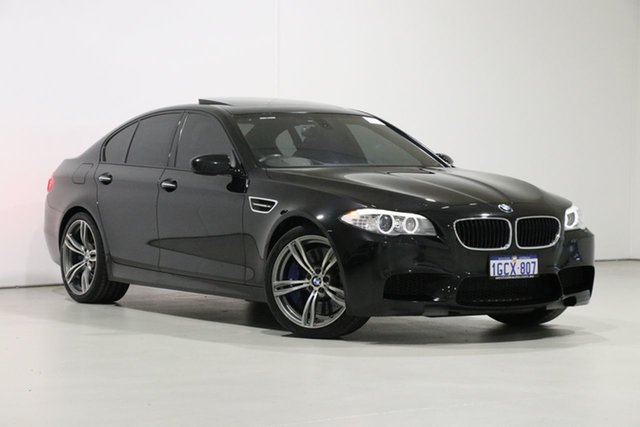 Used BMW M5 F10 MY12 , 2012 BMW M5 F10 MY12 Black 7 Speed Auto Direct Shift Sedan
