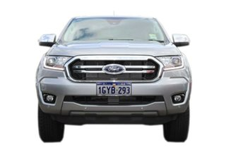 2019 Ford Ranger PX MkIII 2019.75MY XLT Pick-up Double Cab Silver 10 Speed Sports Automatic Utility.