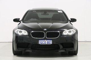 2012 BMW M5 F10 MY12 Black 7 Speed Auto Direct Shift Sedan.
