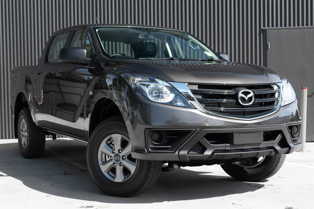 Demo Mazda BT-50 UR0YG1 XT 4x2 Hi-Rider, 2019 Mazda BT-50 UR0YG1 XT 4x2 Hi-Rider Titanium Flash 6 Speed Sports Automatic Utility