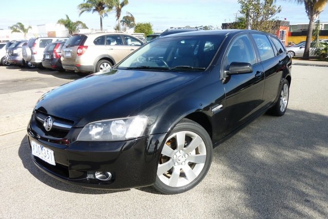 Used Holden Commodore VE MY09.5 International Sportwagon, 2009 Holden Commodore VE MY09.5 International Sportwagon Black 4 Speed Automatic Wagon