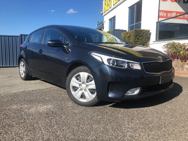 Used Kia Cerato YD MY17 S, 2016 Kia Cerato YD MY17 S Blue 6 Speed Sports Automatic Hatchback