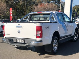2013 Holden Colorado LTZ White Manual Dual Cab Utility.