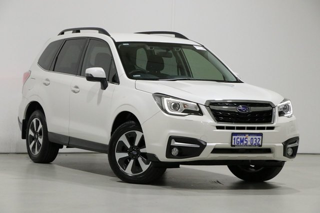 Used Subaru Forester MY18 2.5I-L Special Edition, 2018 Subaru Forester MY18 2.5I-L Special Edition Pearl White Continuous Variable Wagon